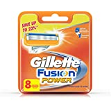 Gillette Fusion Power Shaving Razor Blades - 8 Pieces (Save Rs. 597)