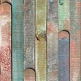 d-c-fix, Folie, deco, Design Rio buntes Holz, selbstklebend, 45 x 150 cm