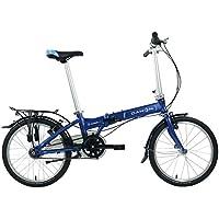 Dahon vitesse i7 bicicleta plegable para adulto, marina, talla 20