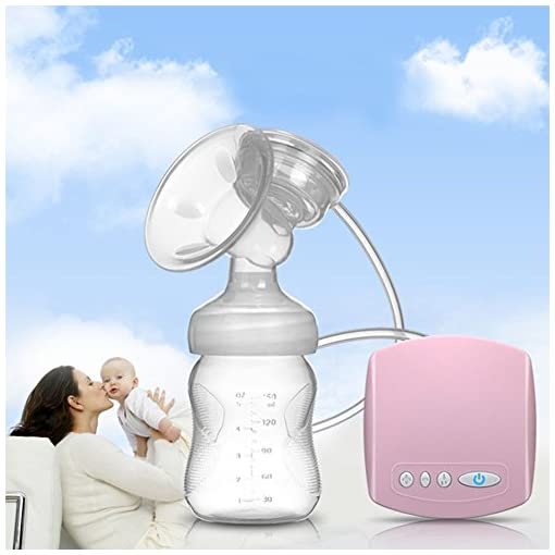 Electric Breast Pump, Natural Comfortable Mimics Breastfeeding Baby (Single) – BPA Free 515hz NantL