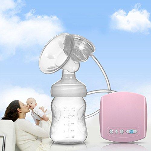 Electric Breast Pump, Natural Comfortable Mimics Breastfeeding Baby (Single) – BPA Free 515hz NantL