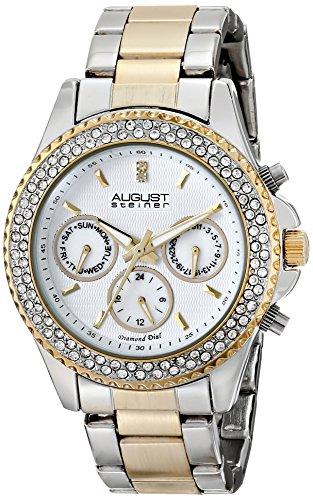 august-steiner-womens-swiss-quartz-multifunction-diamond-crystal-silver-tone-and-gold-tone-bracelet-