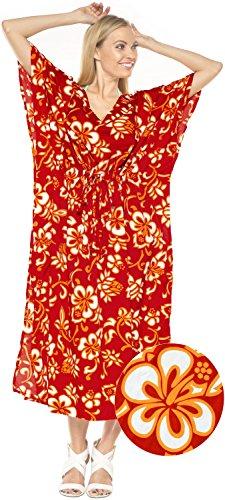 maillot de bain robe bain robe de costume � long caftan femmes beachwear kimono couvrir maillots de bain Rouge