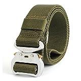 Taktischer gürtel-outdoor tactical belt Herren Heavy Duty verstellbare Military Style Nylon Gürtel mit Aluminium Schnalle 1,5