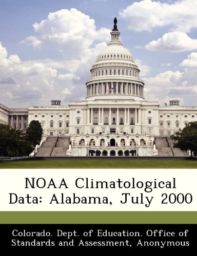 NOAA Climatological Data: Alabama, July 2000