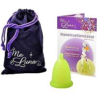 Me Luna Coupe menstruelle Classic, boule, vert, Taille S