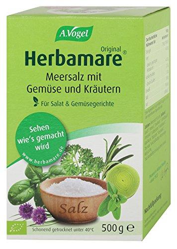 A.Vogel Bio Herbamare Kräuter-Meersalz Nachfüllpack (1 x 500 gr) - Kräuter-salz