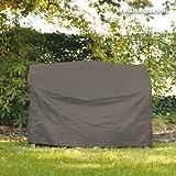 Videx-Gartenmöbel-Schutzhülle für eine Gartenbank, taupe, 190 cm breit