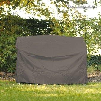 Videx-Gartenmöbel-Schutzhülle für eine Gartenbank, taupe, 134 cm breit
