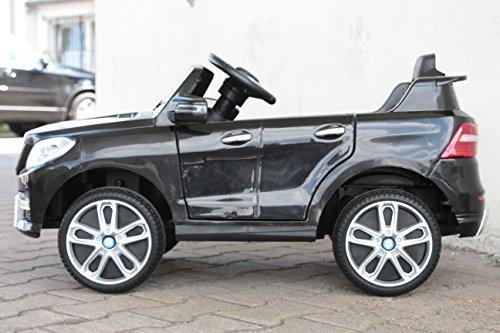RC Auto kaufen Kinderauto Bild 2: Kinder Elektro Auto Mercedes Benz ML350 2x25W 12V Elektroauto Kinderfahrzeug Ferngesteuert Elektro ml 350 (Schwarz)*