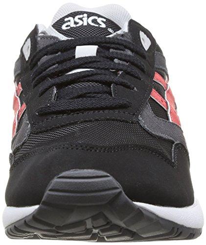 ASICS Gelsaga, Unisex-Erwachsene Laufschuhe Training Black/Burgundy