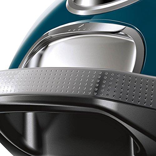 Siemens VSQ8JUBI Cylinder vacuum 5L 650W A Blue,Grey vacuum - Vacuums (650 W, A, 28 kWh, 10 A, Cylinder vacuum, Dust bag)