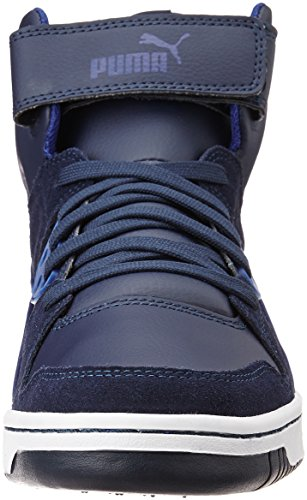 Puma Rebound Street Sd, Baskets Basses Mixte Adulte Noir (Schwarz)