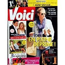 VOICI [No 1253] du 18/11/2011 - TRISTANE BANON S'EN PREND A ANNE SINCLAIR - LORIE EN PLEINE DEPRIME - PATRICK BRUEL ET AMANDA STHERS RECONCILIES - GEORGE CLOONEY - GOLF - SEXE ET MARGARITAS - DES FAMILLES EN OR