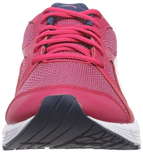 Puma Axis V4 Mesh Jr, Sneakers Basses mixte enfant Rose - Pink (rose red-white 02)