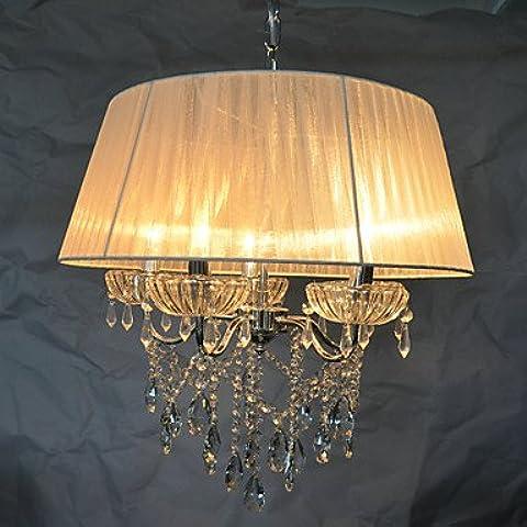 XFCWF Dolce Chic 5 Pendente luci spia luci a soffitto apparecchi di illuminazione lampadari Pattern con Blossom 220-240V