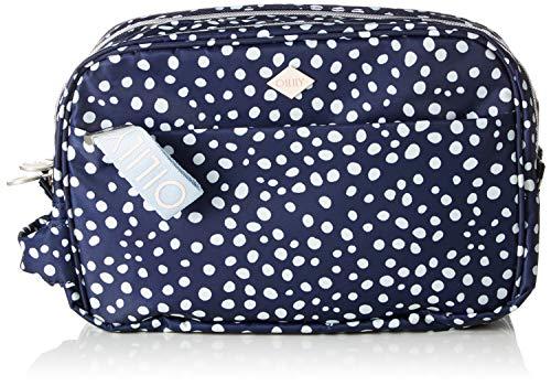 Oilily Damen Vivid Washbag Mhz 2 Taschenorganizer, Blau (Blue), 11.0x17.5x26.0 cm