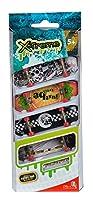 Simba 103301664 - Finger Skateboard 4er Set 9cm
