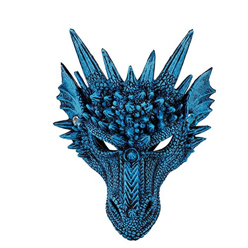 Qlans Halloween Scary Dragon Maske für die Kid Teens Masquerade Party (Drache Halloween-kostüm Kids)