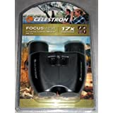 Celestron FocusView Lightweight Binocular, Black (71179)