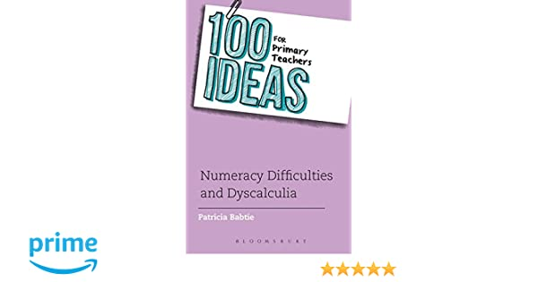 numeracy difficulties