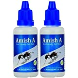 AMish A Eco-Friendly Ant Repellent Bottle for Home, Garden, Kitchen and Wall Edges (20g) - Set of 2