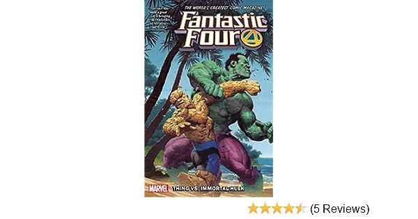 Fantastic Four #12 Thing vs Immortal Hulk!