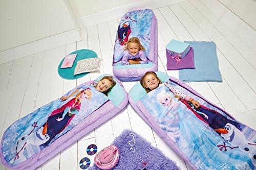 *Worlds Apart La Reine des Neiges – Lit junior ReadyBed – lit d'appoint pour enfants avec couette intégrée Offre de prix