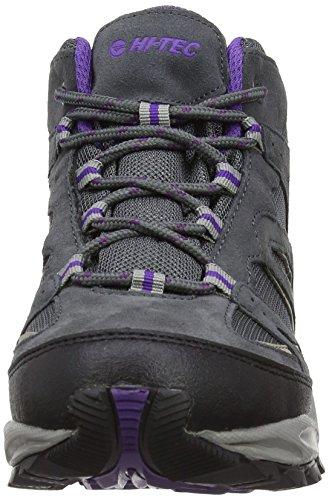 Hi-Tec Fusion Sport Mid Wp Women's Damen Wanderschuhe Violett (Grey/Beige/Purple)