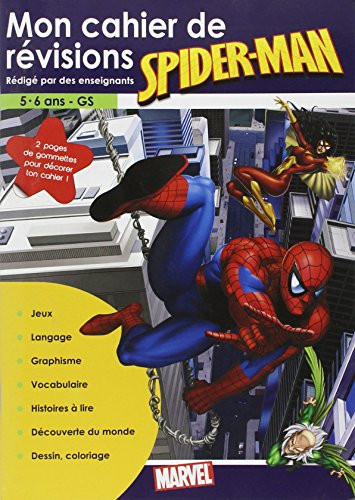 Cahier Révision Spider-Man (5/6 Ans)