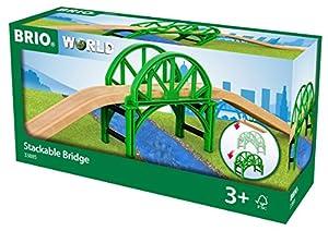 BRIO- Puente apilable (33885), Multicolor (RAVENSBURGER 1)