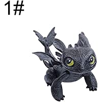 WIN86haib Cute How to Train Your Dragon 2 Action Figure Toothless PVC Children Kids Toy
