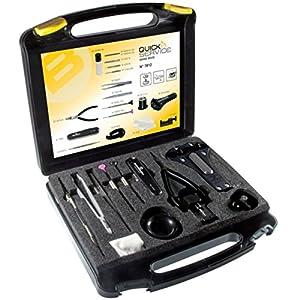 BERGEON 7812 plus Uhrenwerkzeug-Set QUICK SERVICE – 18-teilig – UHRMACHER-Spezialwerkzeug – SWISS MADE