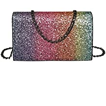Amazon.es  Bolso Fiesta Barato - Multicolor 35414a9b3bbf
