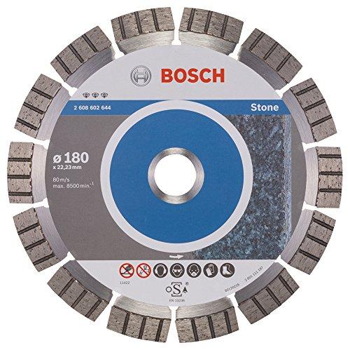 Bosch Professional Diamanttrennscheibe (für extrem hartes Gestein, Ø: 180 mm, Zubehör für Winkelschleifer)
