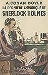 La dernière chronique de Sherlock Holmes - fac similé