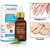 KOBWA - Esencia de tratamiento de uñas con tratamiento fúngico, eliminación de hongos de uñas, líquido de cuidado de uñas apto para uñas de dedo y pie, 30 ml