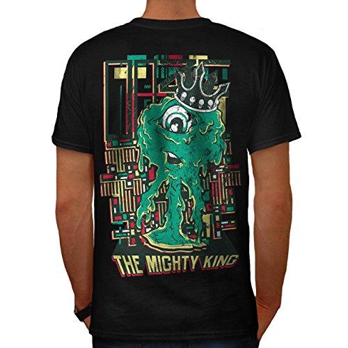 König Monster Niedlich Horror Zyklop Leben Herren M T-shirt Zurück | Wellcoda