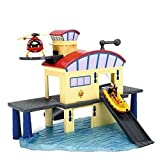 Dickie Toys 203099616 - Feuerwehrmann Sam Ocean Rescue Set, Spielset mit Haus