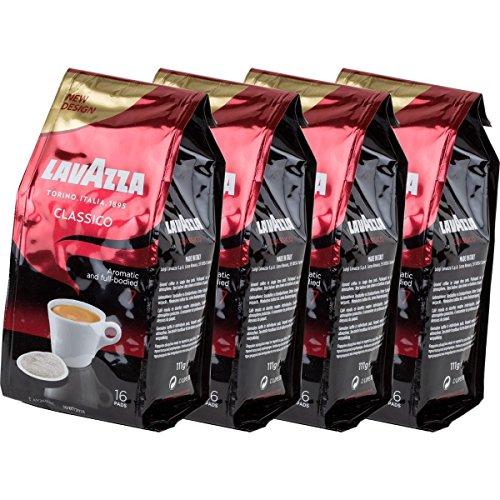 4x Lavazza Classico Kaffeepads - Harmonisch und Würzig - für alle Padmaschinen