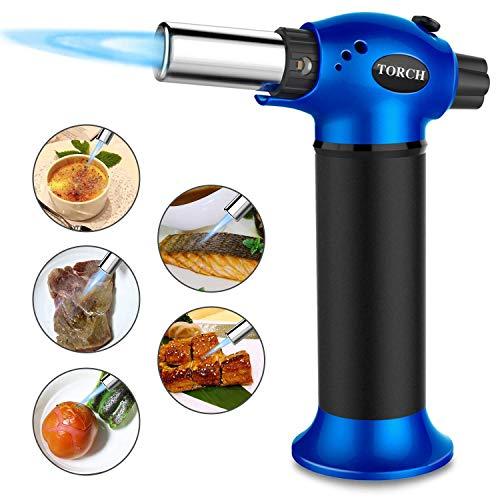 ALCST&CX Flambierbrenner, Creme Brulee, BBQ, Gebäck, Desserts, zum Kochen, Backen, Flambieren, Grillen, Butangas Nicht inbegriffen Butan Bunsenbrenner