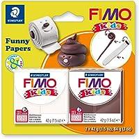 Staedtler 8035 17 ST Fimo Kids - Amasadora Supersuave para el Horno, Especial para niños