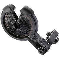 OWSTAR Tiro Drop Away Galleta Flecha Arco Compuesto Resto Izquierda Mano Derecha Cepillo Bigote tirachinas de Aluminio (A)