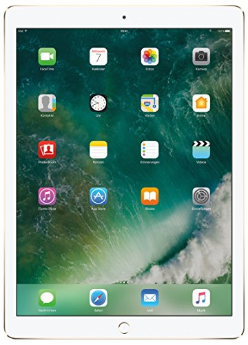 Apple iPAd Pro ML0H2FD/A 32,8 cm (12,9 Zoll) Tablet PC (Telechips, 4GB RAM, 32GB HDD, Mac OS Touchscreen) gold