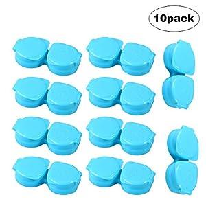 rosenice Box Kontaktlinsen 10pcs (blau)