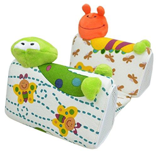 Happy Cherry Baby Süß Atmungsaktives Seitenschläferkissen Lagerungskissen Stützkissen mit Weichen Plüsch Cartoon Tiere
