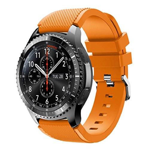 correas-para-samsung-gear-s3-frontier-sannysis-banda-de-pulsera-de-silicona-deportiva-color-naranja