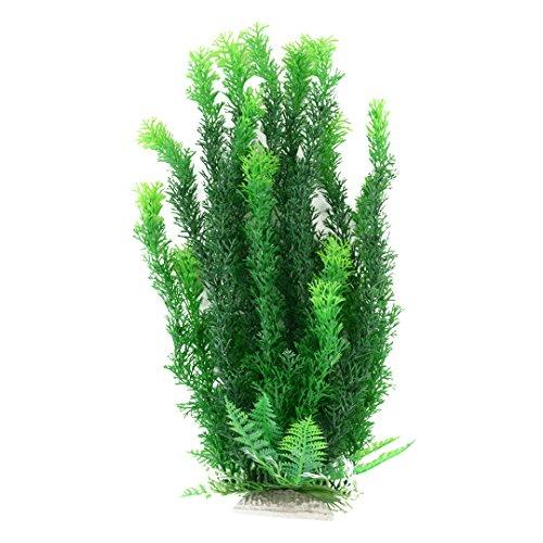47cm Grün Gelb künstliche Aquarium Deko Pflanzen Wasserpflanzen Aqua Bouquet Plant