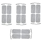 Axion 16 electrodes pour electrostimulateur Sport-ELEC - 10 x 5 cm - pour électrostimulateurs Sport-ELEC équipés d'électrode Filaire de 2 mm - électrode Musculation - electrostimulation TENS EMS
