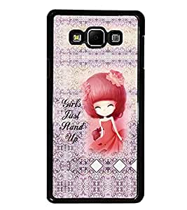 PrintDhaba Quote D-3235 Back Case Cover for SAMSUNG GALAXY A7 (Multi-Coloured)